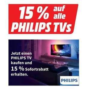 Media Markt: 15% Rabatt auf alle Philips TV Geräte