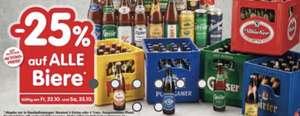 Interspar: -25% auf ALLE Biere (inkl. Aktionen)