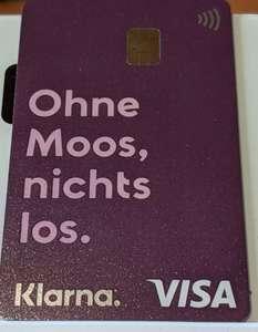 [Info] die Klarna Einmalkarte / Debitkarte