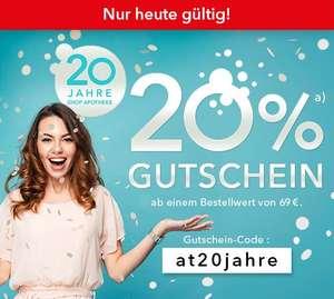 Shop Apotheke 20% auf ALLES