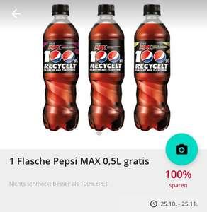 Scondoo: 100% Cashback auf 0.5l Pepsi Max