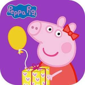 """""""Peppa feiert eine Party"""" (Android / iOS) gratis im Google PlayStore oder Apple AppStore - ohne Werbung / ohne InApp-Käufe -"""