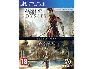 """""""Assassin's Creed Odyssey + Assassin's Creed Origins: Doppelpack"""" (PS4 / XBOX One)"""