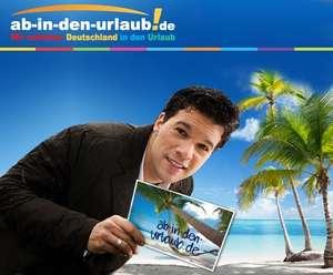 111 Euro ab-in-den-urlaub Gutschein für 9 Euro - 102 Euro Rabatt auf euren Urlaub