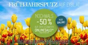 Intersport Eybl: 50% Rabatt auf den gesamten Online-Sale