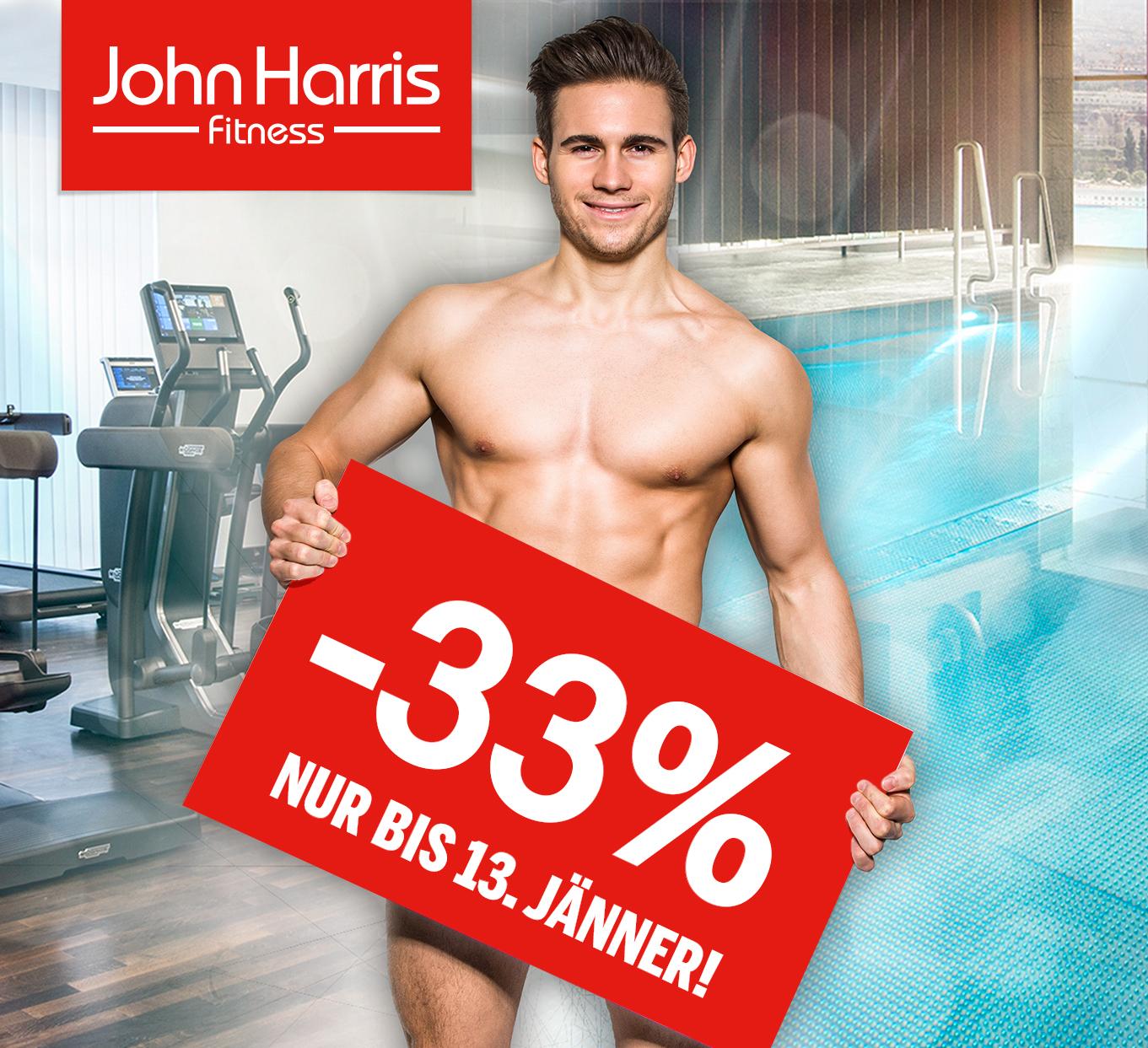 -33% bei John Harris Fitness