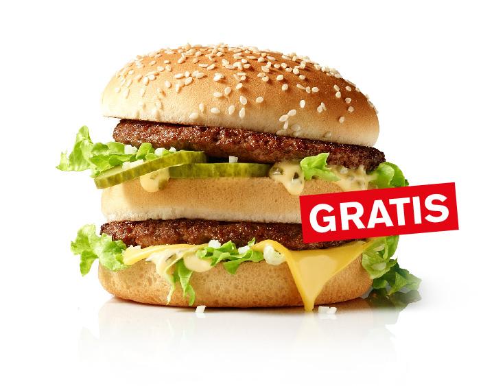 McDonald's McDrive - Gratis BigMac bei Bestellung über 90 Sekunden