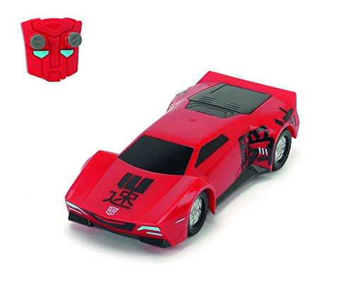 Bestseller Nr. 1 --> Dickie Toys – RC Turbo Racer Sideswipe, funkferngesteuertes Transformers Fahrzeug --> 8,33 € (inkl. Versand für Prime Kunden) statt 41,95 €