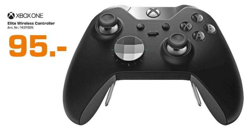 [Lokal Saturn Linz] Microsoft Xbox Elite Wireless Controller, Gamepad schwarz für 95,-€