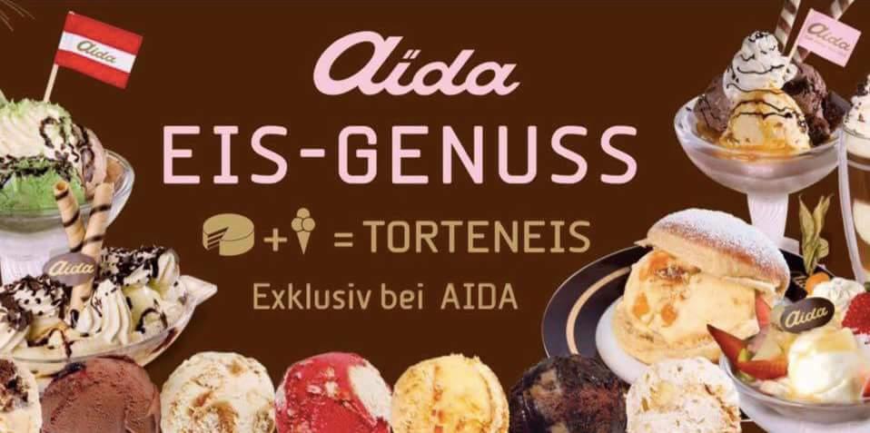 Aida Wien - gratis Torten-Eis