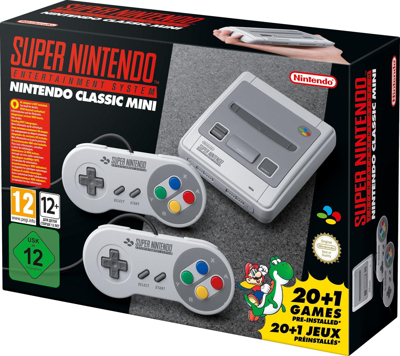 [Saturn] NINTENDO Classic Mini: Super Nintendo Entertainment System ab 74,-€ Versandkostenfrei**Wieder Verfügbar