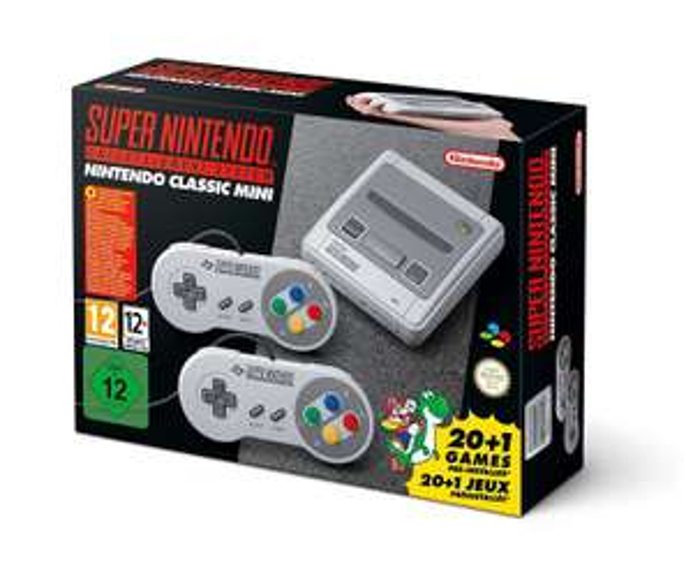 Amazon Händler SNES Nintendo Classic Mini: Super Nintendo Entertainment System