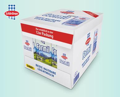 [Hofer] 12x SCHÄRDINGER Formil Leichte Haltbare Milch 0,5 % für 6,24 € (52c/Pkg)