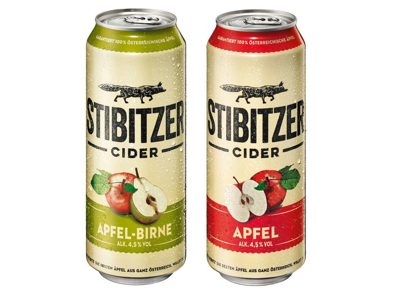 [Lidl] Stibitzer 0,5L Dose Apfel oder Apfel/Birne Cider für 0,95 € - ab Donnerstag