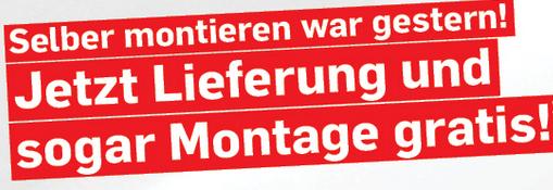Möbel Ludwig: Lieferung und Montage gratis!