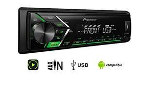 Pioneer MVH-S100UBG 1/2 Din Autoradio mit Aux-In und USB für 23,97€