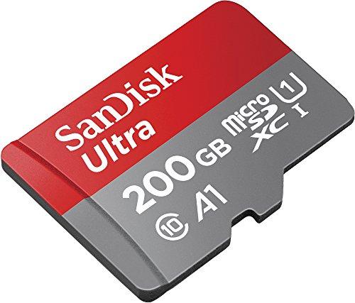 Amazon.de: SanDisk Ultra microSDXC Speicherkarte, 200GB, um 41,33€