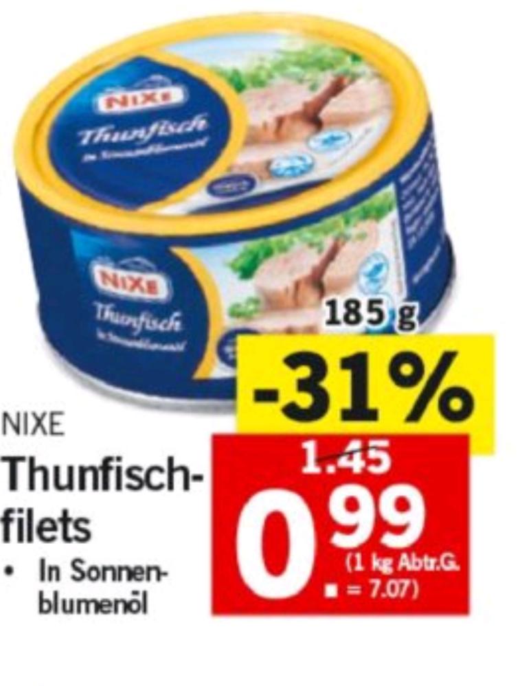 Lidl Protein Snack (Thunfisch aus der Dose)