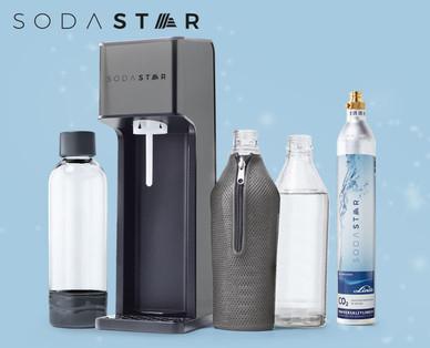 SODASTAR Trinkwassersprudler - Alternative zum Sodastream Crystal