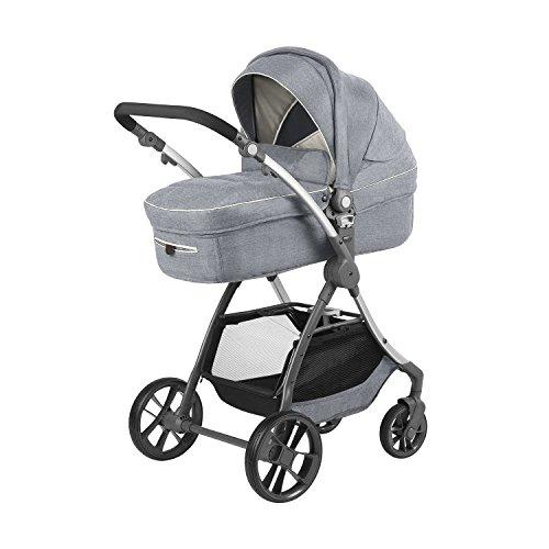 knorr-baby Kombi Kinderwagen Yuu (melange-hellgrau)