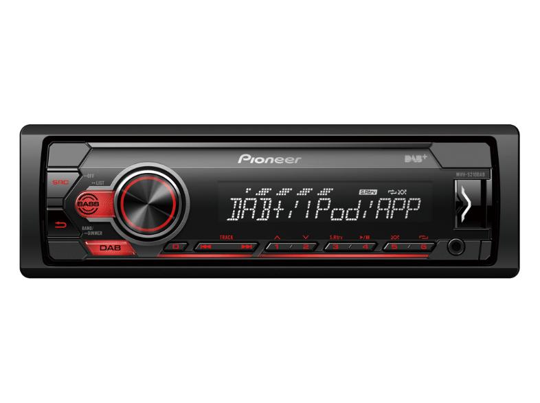 PIONEER Autoradio MVH-S210DAB 1-DIN für 86 € inkl. Versand