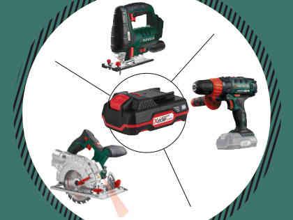 [Lidl] Parkside Akku-Werkzeug im Angebot: Stichsäge, Handkreissäge, Schlagbohrschrauber + zugehörige Akkus
