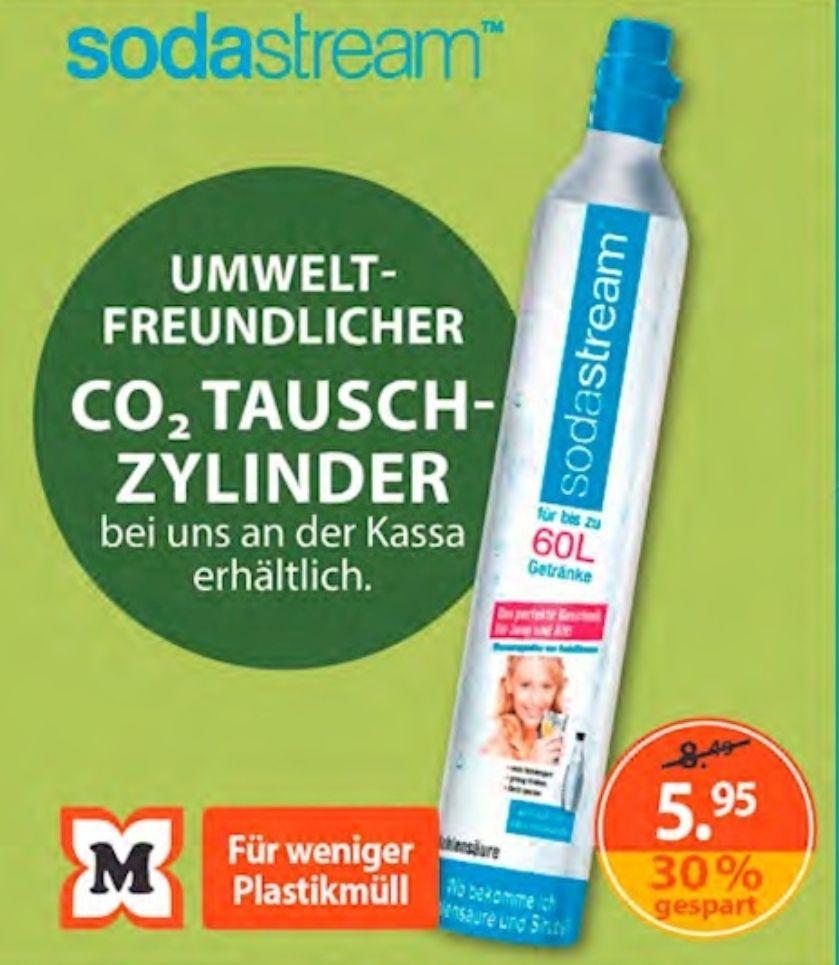 SodaStream Tauschzylinder bei Müller