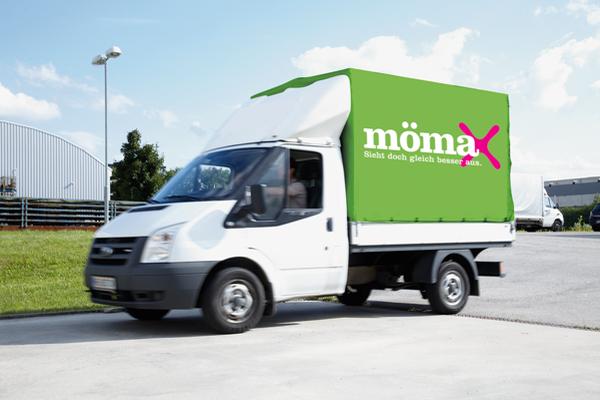 Mömax/Möbelix - Leihtransporter für das gesamte Wochenende um nur 39 €