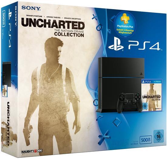 [Gamestop] PS4 500GB Konsole mit Uncharted Collection um 169,99 zum Abholen in Pasching und Klagenfurt