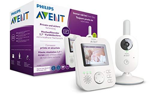 Philips AVENT SCD833/26 Video-Babyphone, 2,7 Zoll Farbdisplay