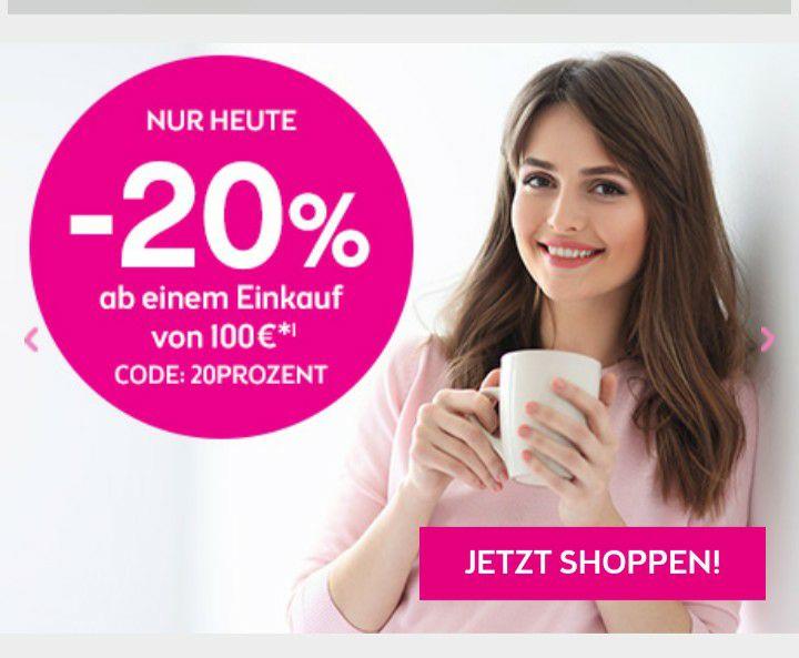 Bipa -20% ab einem Einkauf von 100€*