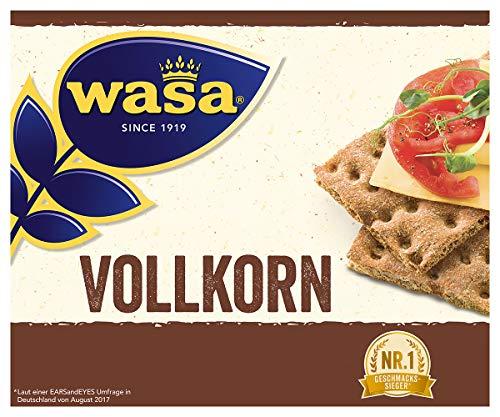 Wasa Knäckebrot Vollkorn, 12er Pack