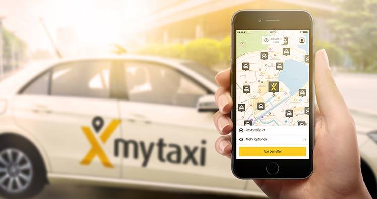 mytaxi FREE NOW - 50% auf die nächste Fahrt