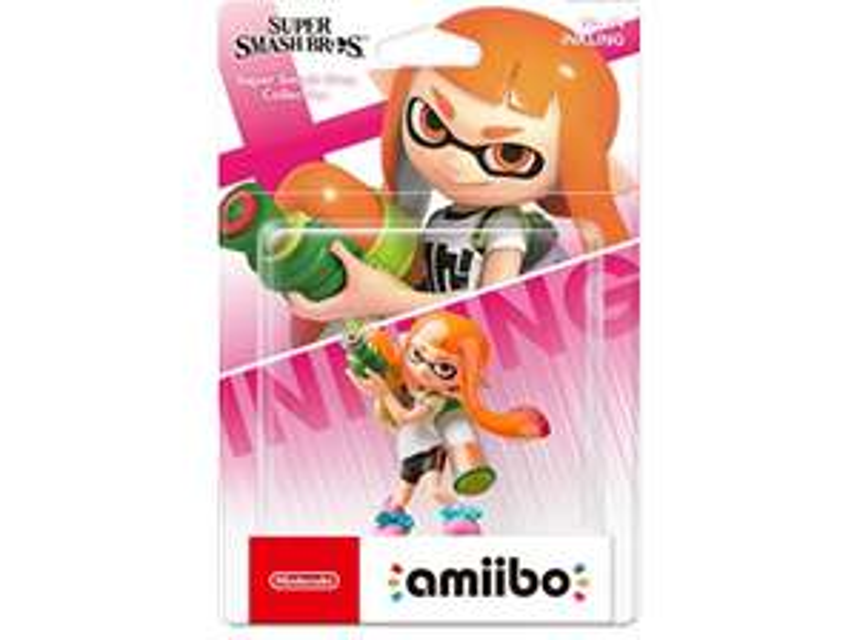 Nintendo amiibo Figur Splatoon Collection Inkling-Mädchen neon pink (Switch/WiiU/3DS) um 4,- inkl. Versand statt 14,99 (saturn)