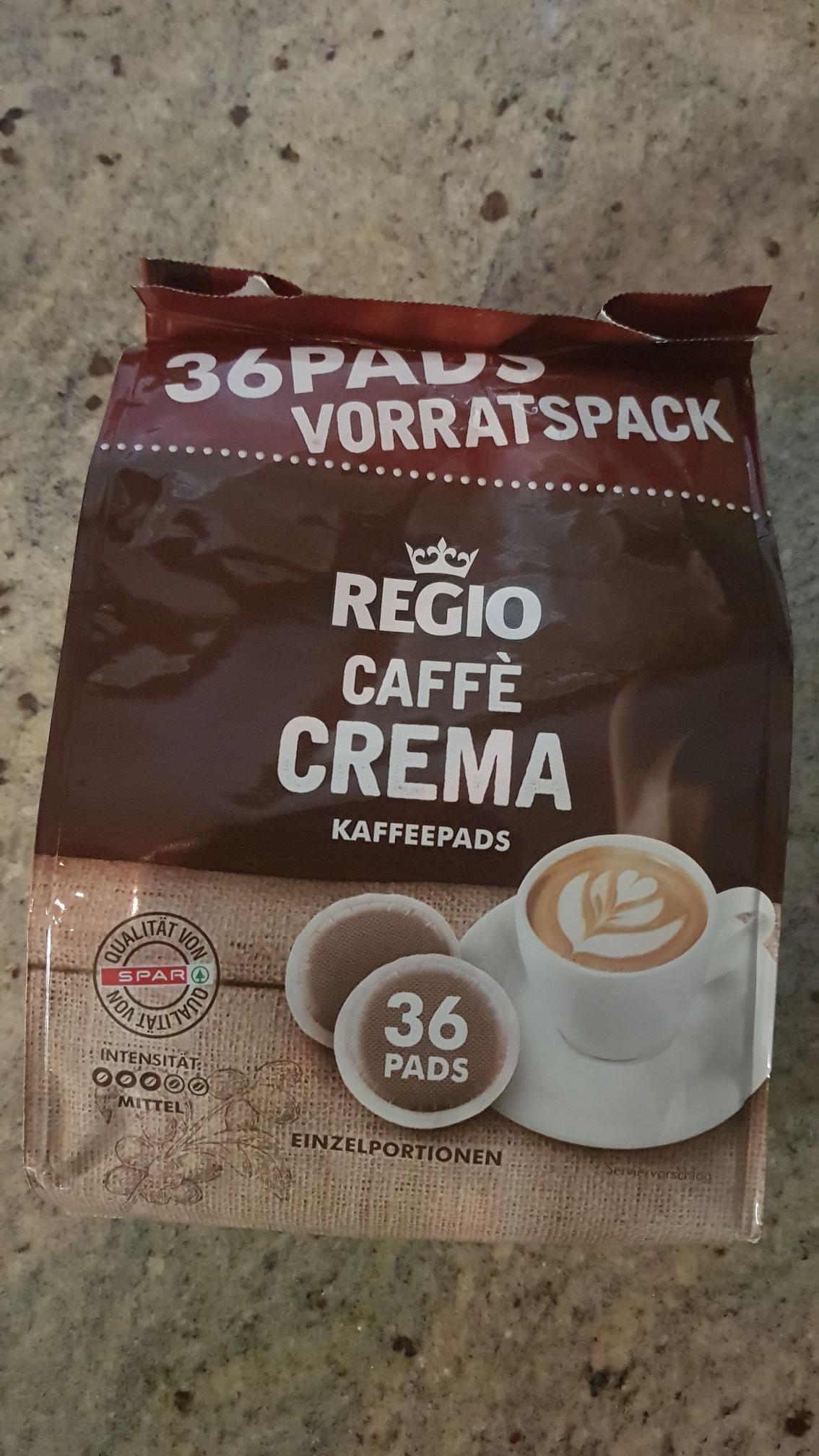 REGIO CAFFE 36 Kaffeepads beim Spar
