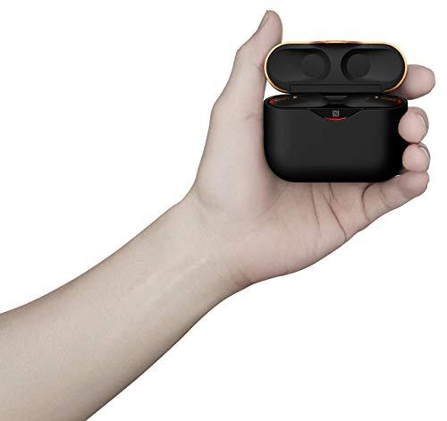 Sony WF-1000XM3 True Wireless Noise Cancelling Kopfhörer (bis zu 32h Akkulaufzeit, stabile Bluetooth Verbindung) schwarz