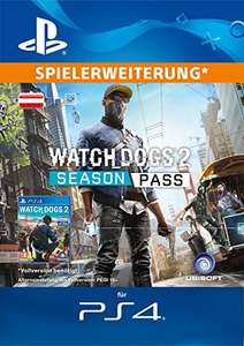 Watch Dogs 2 - Season Pass [PS4 Download Code - Österreichisches Konto]