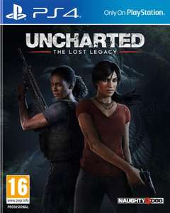 GameStop: Uncharted: The Lost Legacy  (PlayStation 4)
