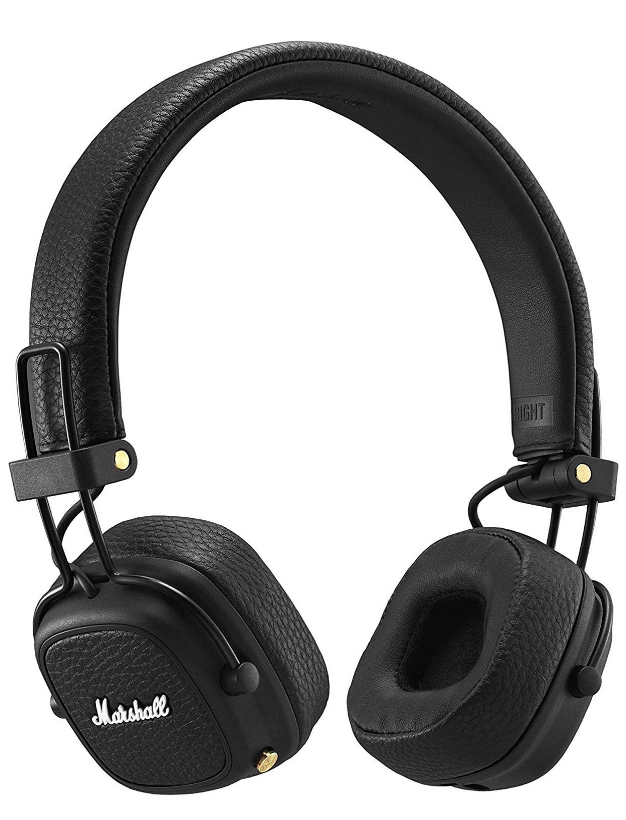 Marshall Major III Bluetooth Kopfhörer Schwarz