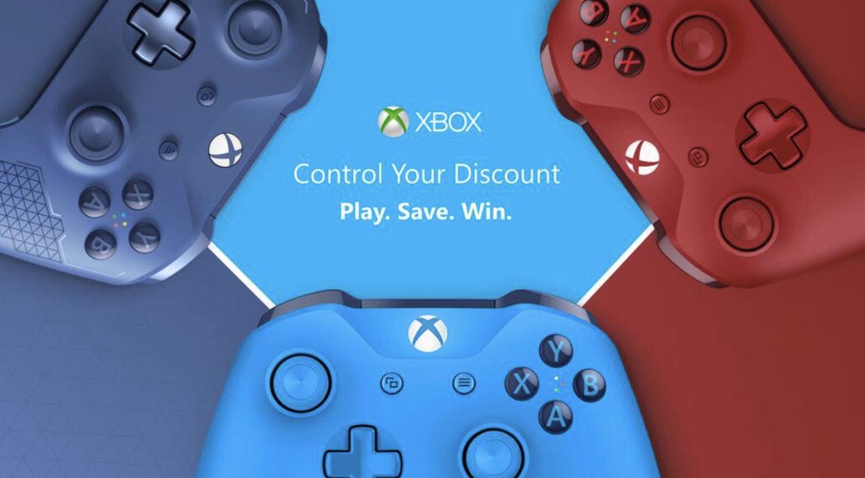Xbox one Controller in verschiedenen Farben (Kleines Spiel)