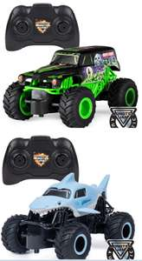 AMAZON.de l Wilder kleiner Preisjäger l Monster Jam 6044955 - Grave Digger RC Truck