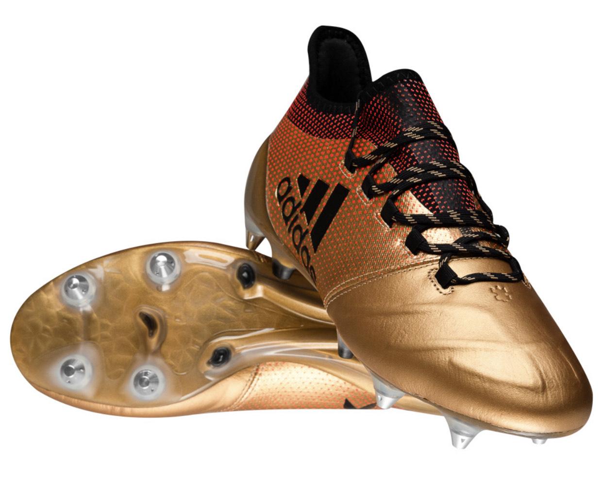 adidas X 17.1 SG Leder Herren Profi Fußballschuhe