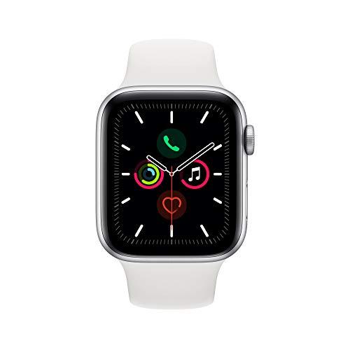 Apple Watch Series 5 (GPS + Cellular), 44mm, weiß