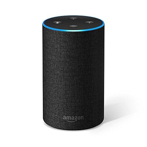 [Amazon] Amazon Echo (2. Gen.), Intelligenter Lautsprecher mit Alexa, Anthrazit Stoff um 49,99€ statt 78,90€ (Bestpreis!)