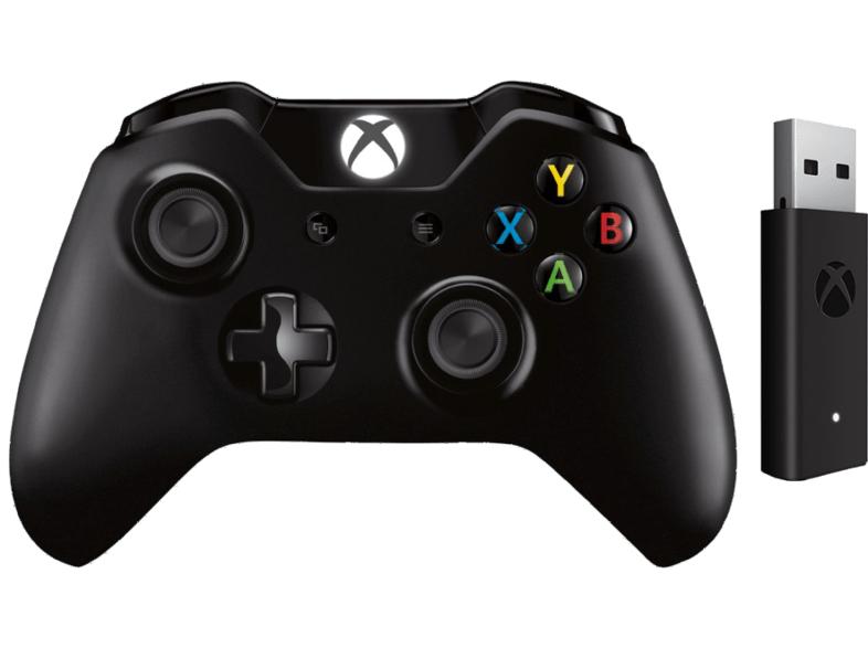 [Saturn + Mediamarkt Black Week] Microsoft Xbox One Wireless Controller inkl. Wireless Adapter schwarz