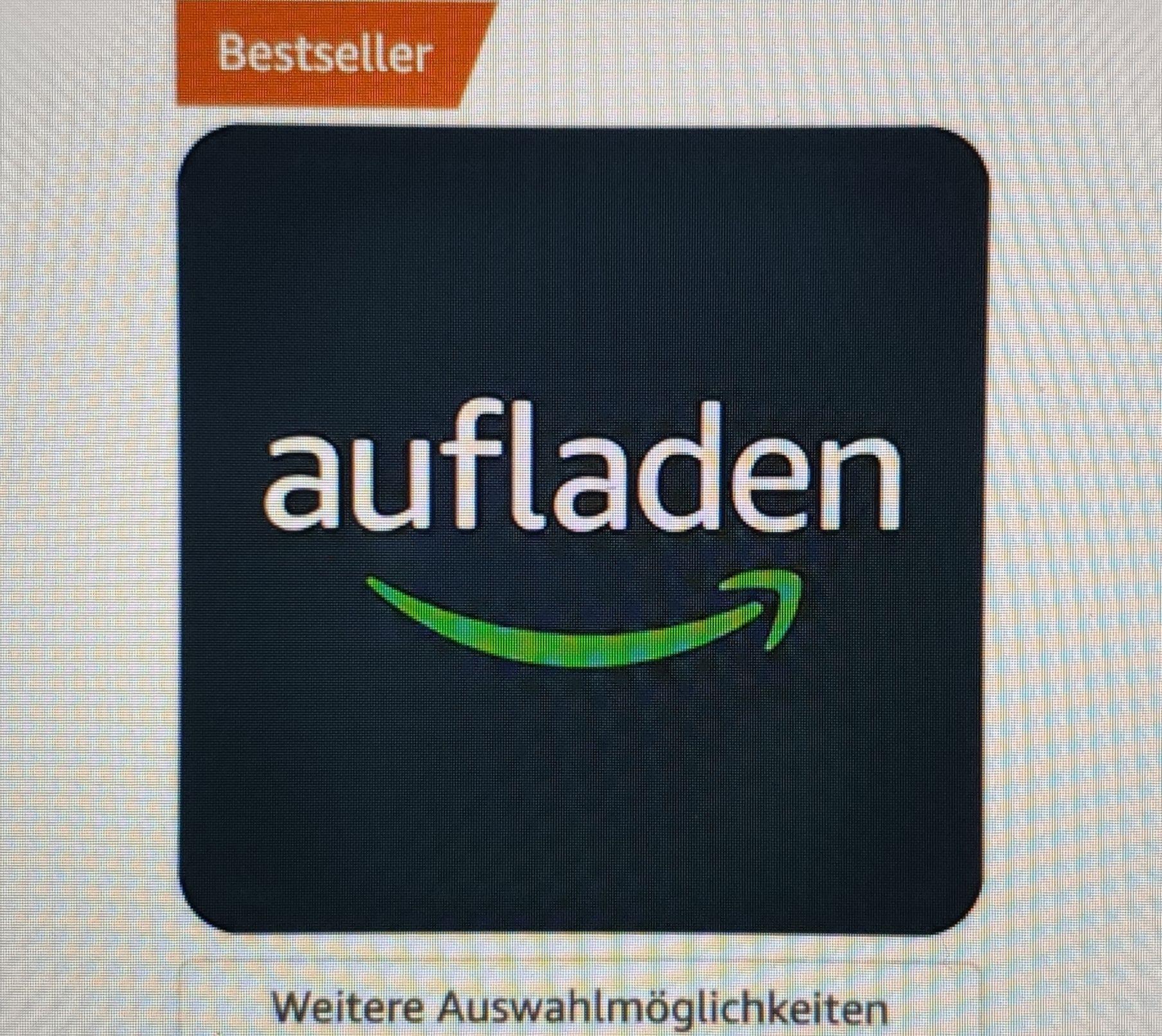 Amazon-Konto mit 80€ aufladen und 8€ geschenkt bekommen