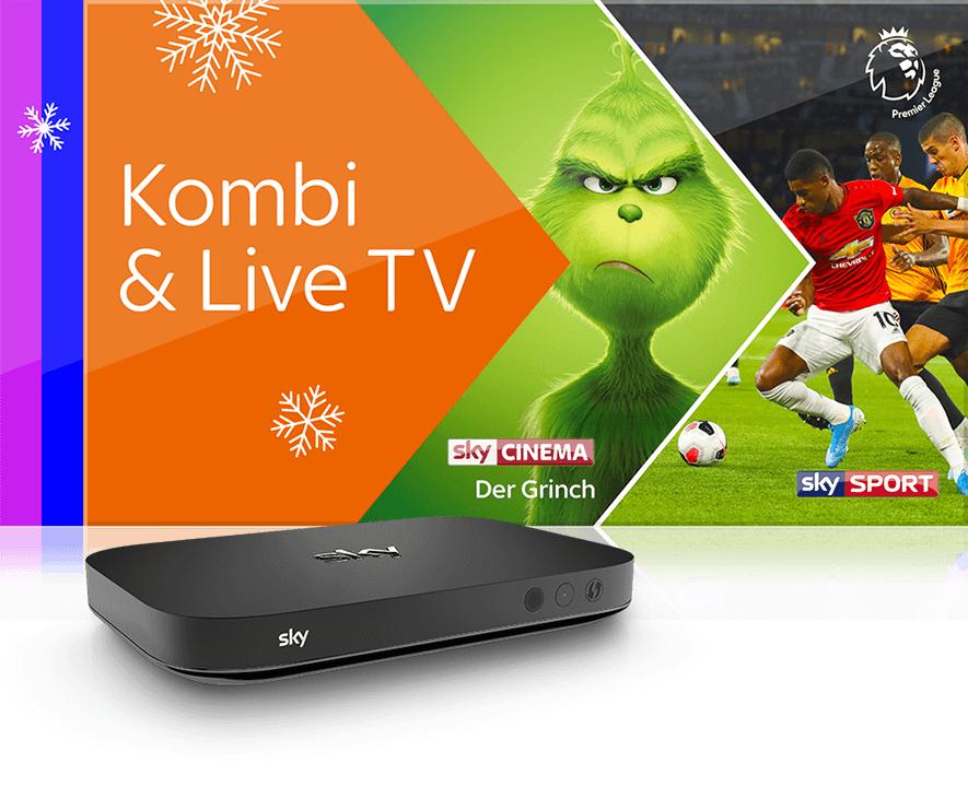 Sky X verschenkt die Streaming Box an Kombi-Neukunden