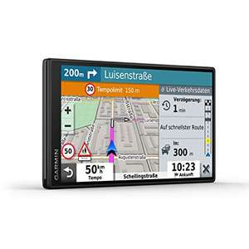 Garmin DriveSmart 55 MT-S EU Navi - rahmenloses Display, 3D-Navigationskarten und Garmin Live-Traffic + GRATISversand