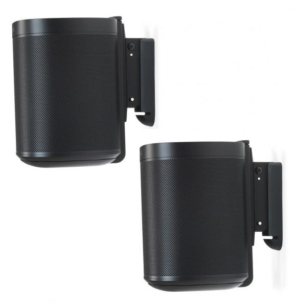 2x Wandhalter für Sonos One/One SL/Play:1 schwarz von Flexson