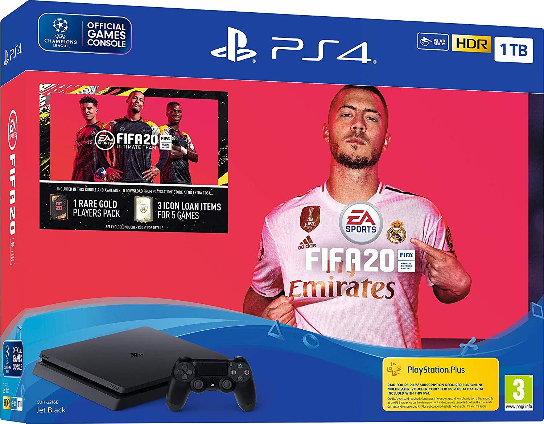Sony PlayStation 4 Pro (1TB) + FIFA 20